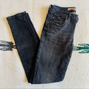 Zara TRF Core Denim black skinny jeans size 4/26